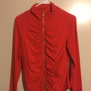 Victoria's secrets red yoga zip up